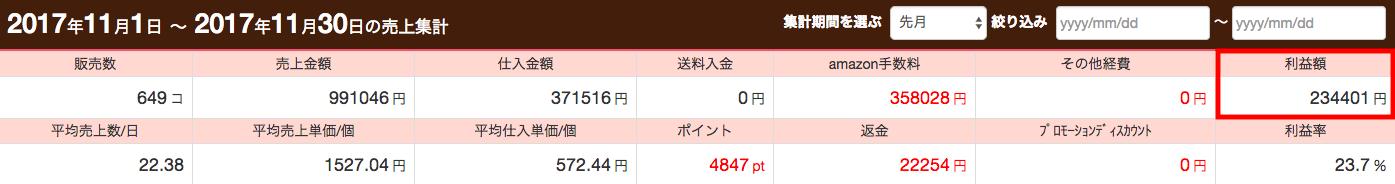 ダマさん月利23万円達成・証拠画像