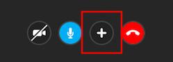 画面共有・招待ボタン