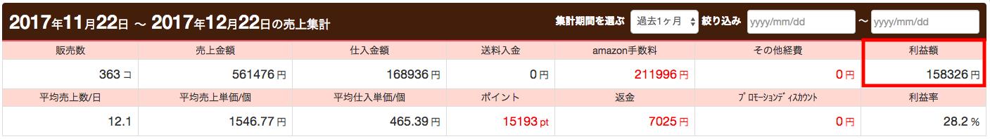 ナオキさん月利15万円達成・証拠画像